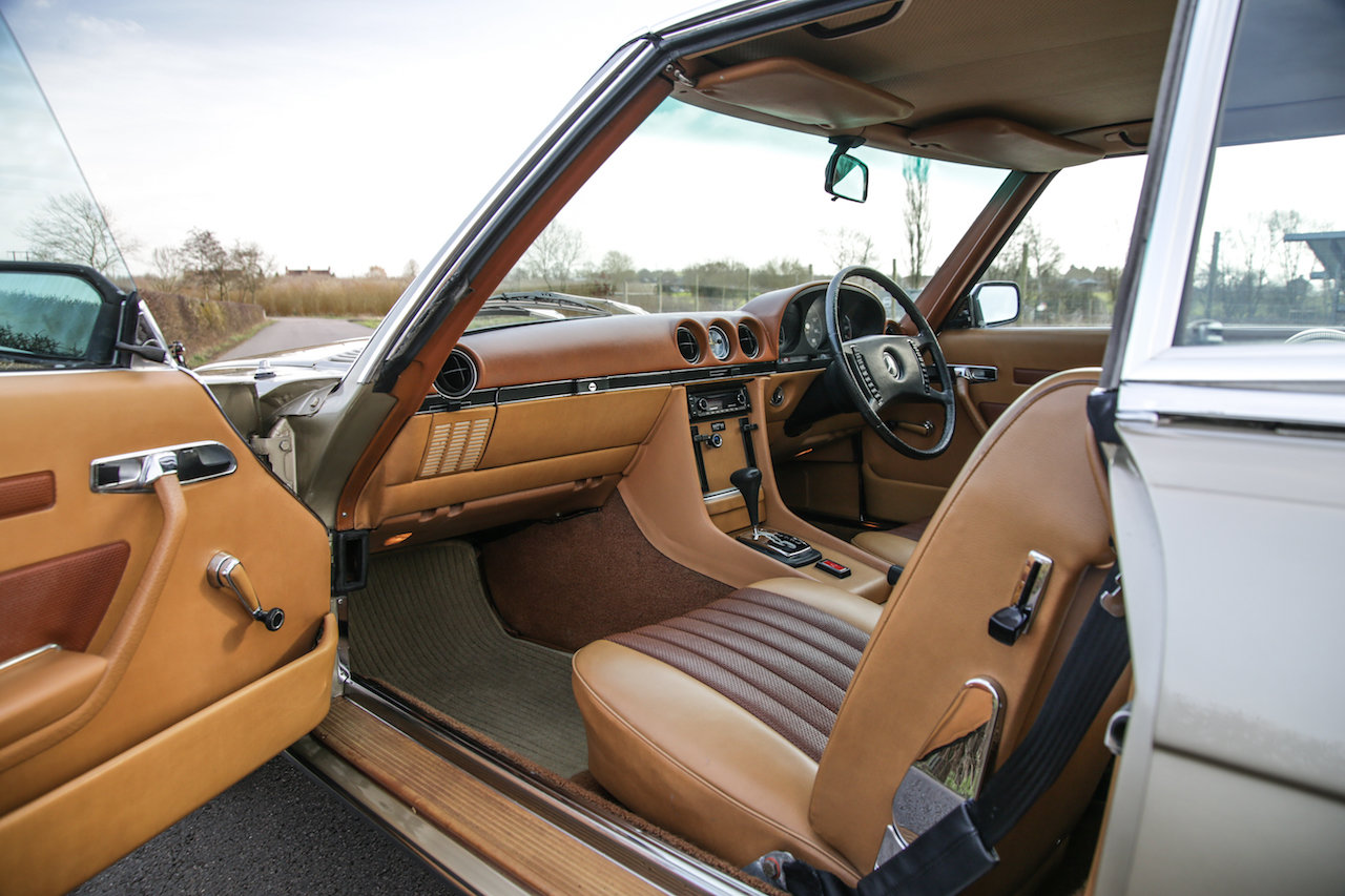 1972 Mercedes-Benz 350SL V8 (R107) #2193 Early No Headrest Model For Sale (picture 5 of 6)