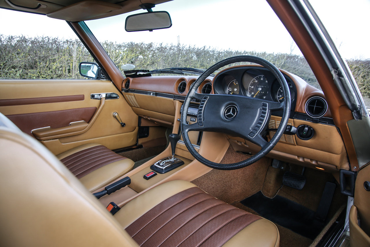 1972 Mercedes-Benz 350SL V8 (R107) #2193 Early No Headrest Model For Sale (picture 6 of 6)