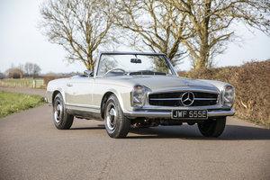 1967 Mercedes-Benz 250SL Pagoda (W113) 5 spd Manual #2190 For Sale