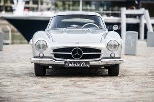 """The 1954 """"Salon de Paris"""" motorshow 300SL GW For Sale"""