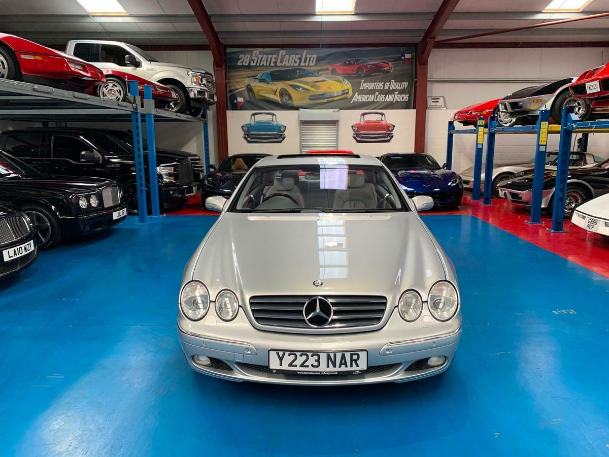 2001 MERCEDES BENZ CL600 5.8L WITH FULL MERC HISTORY SOLD (picture 1 of 6)