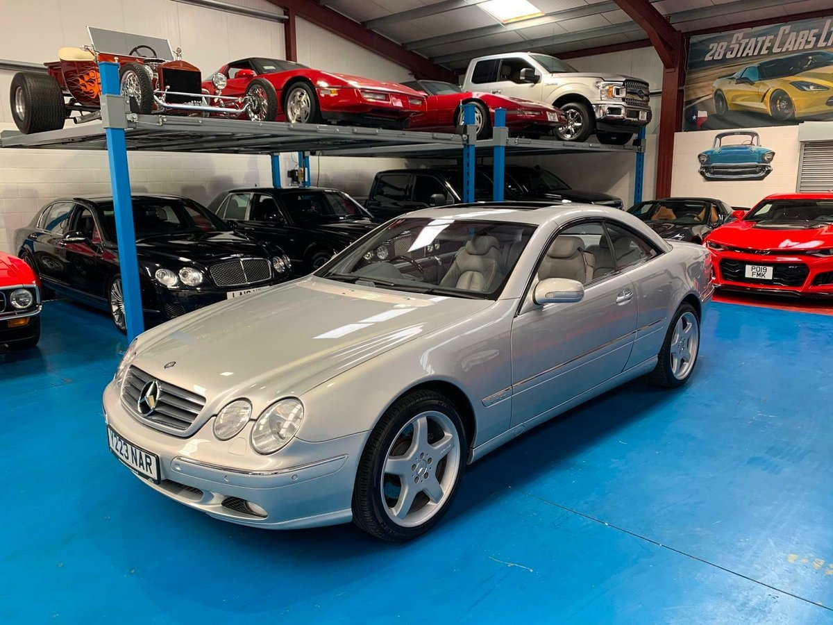 2001 MERCEDES BENZ CL600 5.8L WITH FULL MERC HISTORY SOLD (picture 2 of 6)