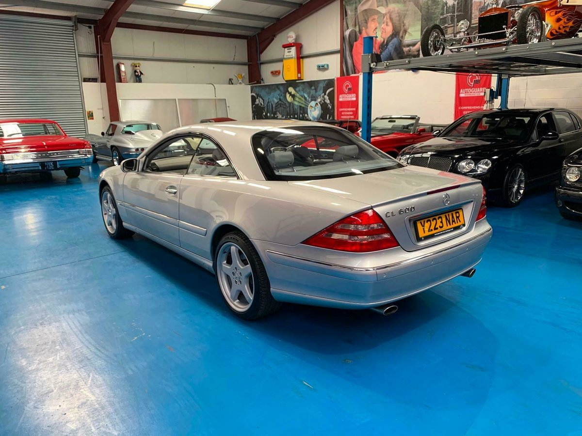 2001 MERCEDES BENZ CL600 5.8L WITH FULL MERC HISTORY SOLD (picture 4 of 6)