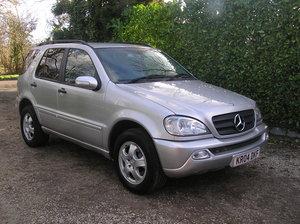 2004 Mercedes-Benz M Class 2.7 ML270 CDI  For Sale