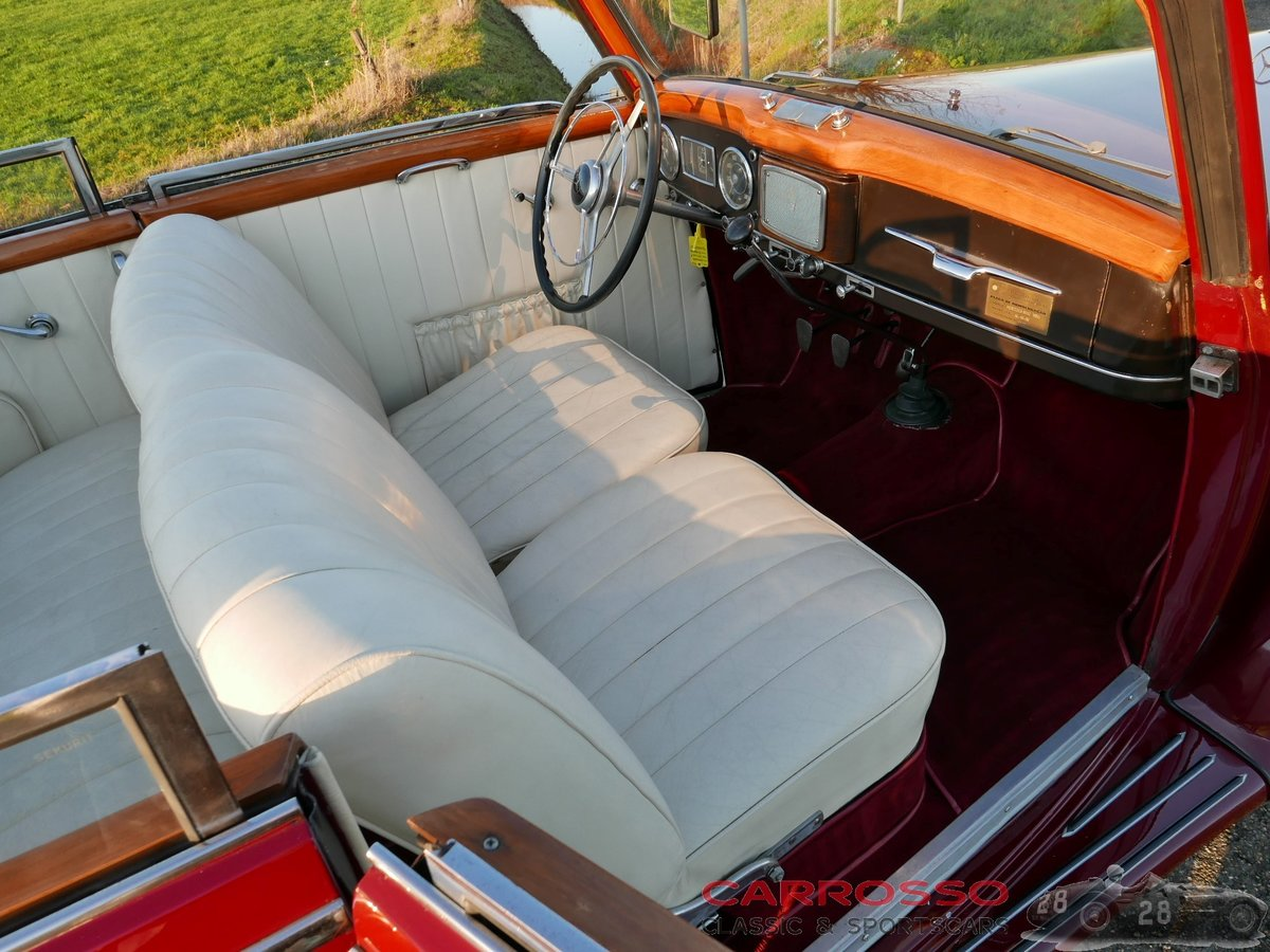 1950 Mercedes Benz 170 S Convertible B in a nice used condition For Sale (picture 3 of 6)