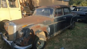 1956 1958 Mercedes 220S for restoration For Sale