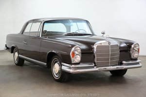 1961 Mercedes-Benz 220SE Sunroof Coupe