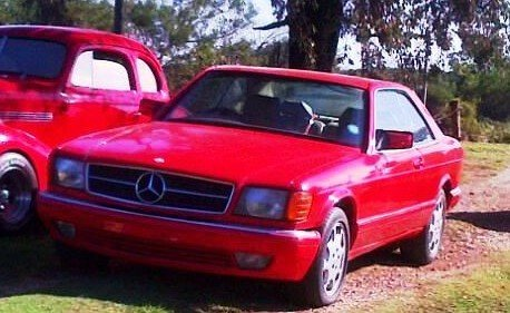 1990 Mercedes 560 SEC For Sale