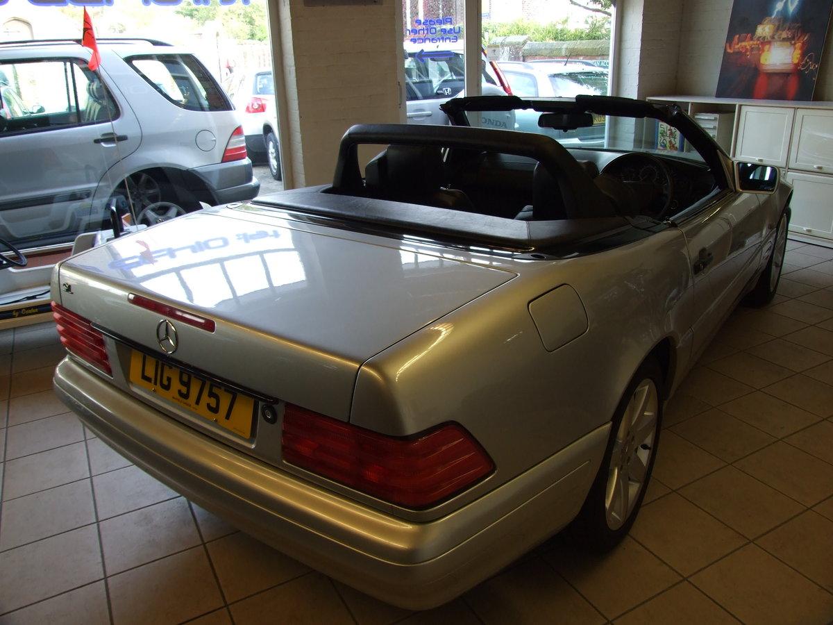 1996 Genuine 59,000 mile SL320 For Sale (picture 2 of 4)