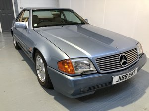 1991 MERCEDES-BENZ 300SL AUTOMATIC CONVERTIBLE