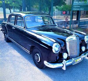 MERCEDES (W180) PONTON 220A (1957) RESTORED