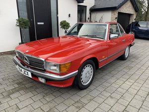 1988 300 SL 2 OWNERS 59000 MILES £24950 For Sale