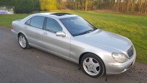 2001 Mercedes s class s600l limousine lwb v12 w220 For Sale