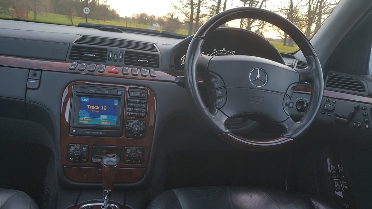 2001 Mercedes s class s600l limousine lwb v12 w220 For Sale (picture 4 of 6)