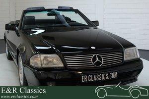Mercedes-Benz 300SL Cabriolet 1992 Black on black For Sale
