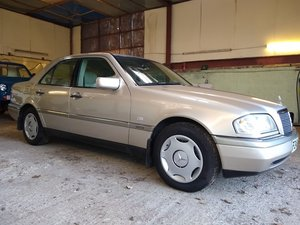 1996  Mercedes C200 Auto timewarp for auction 17th July