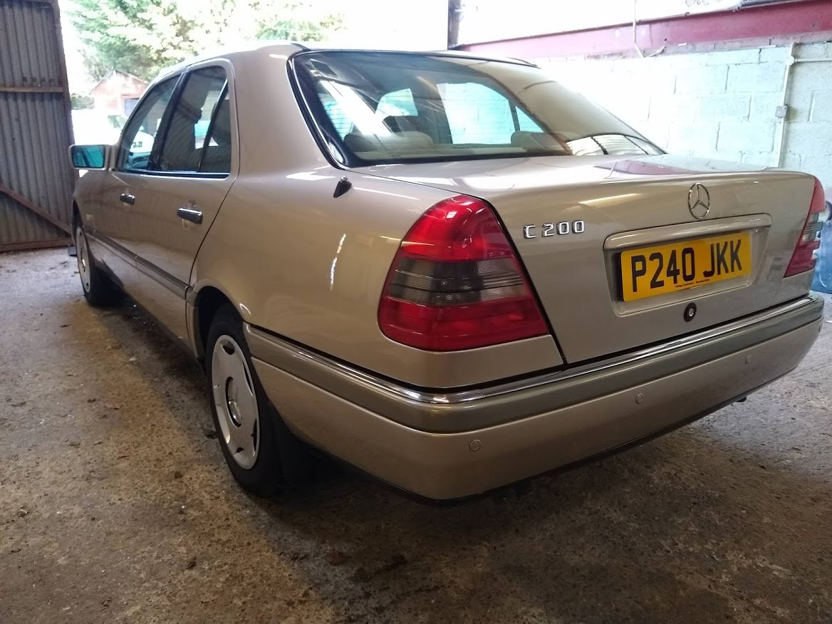 1996 Mercedes C200 Auto timewarp for auction 16th-17th July SOLD by Auction (picture 5 of 6)