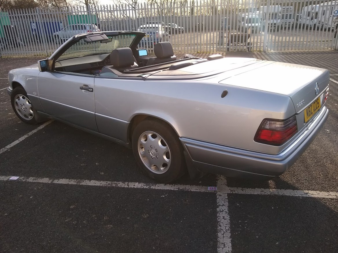 1997  Mercedes E220 Cabriolet 48,000 miles AUCTION 16TH/17TH JULY For Sale by Auction (picture 2 of 6)