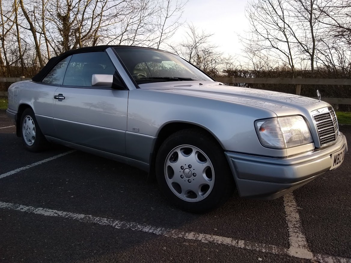 1997  Mercedes E220 Cabriolet 48,000 miles AUCTION 16TH/17TH JULY For Sale by Auction (picture 3 of 6)