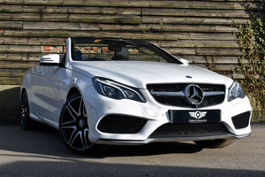 2015 Mercedes E400 3.0 AMG Cabriolet Low Mileage+FSH+Air Scarf For Sale