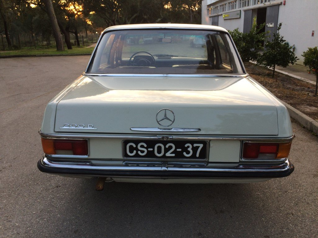 1969 Mercedes  totaly restored For Sale (picture 3 of 6)