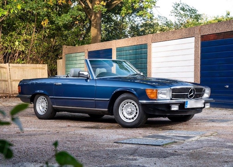 1983 Mercedes-Benz 500SL R107 - RESERVED For Sale (picture 1 of 4)