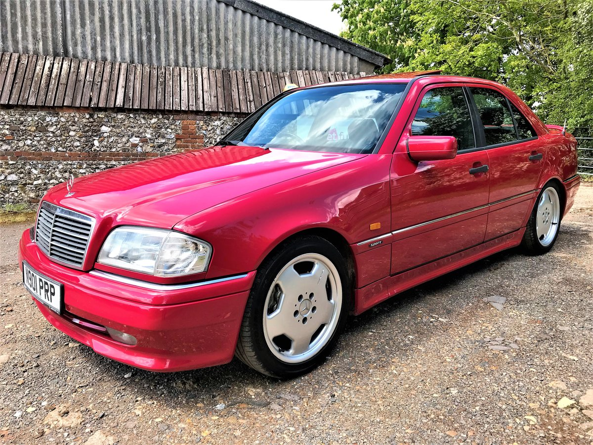1995 Mercedes AMG C36 + 3 previous owners + UK car+12M MOT For Sale (picture 1 of 6)