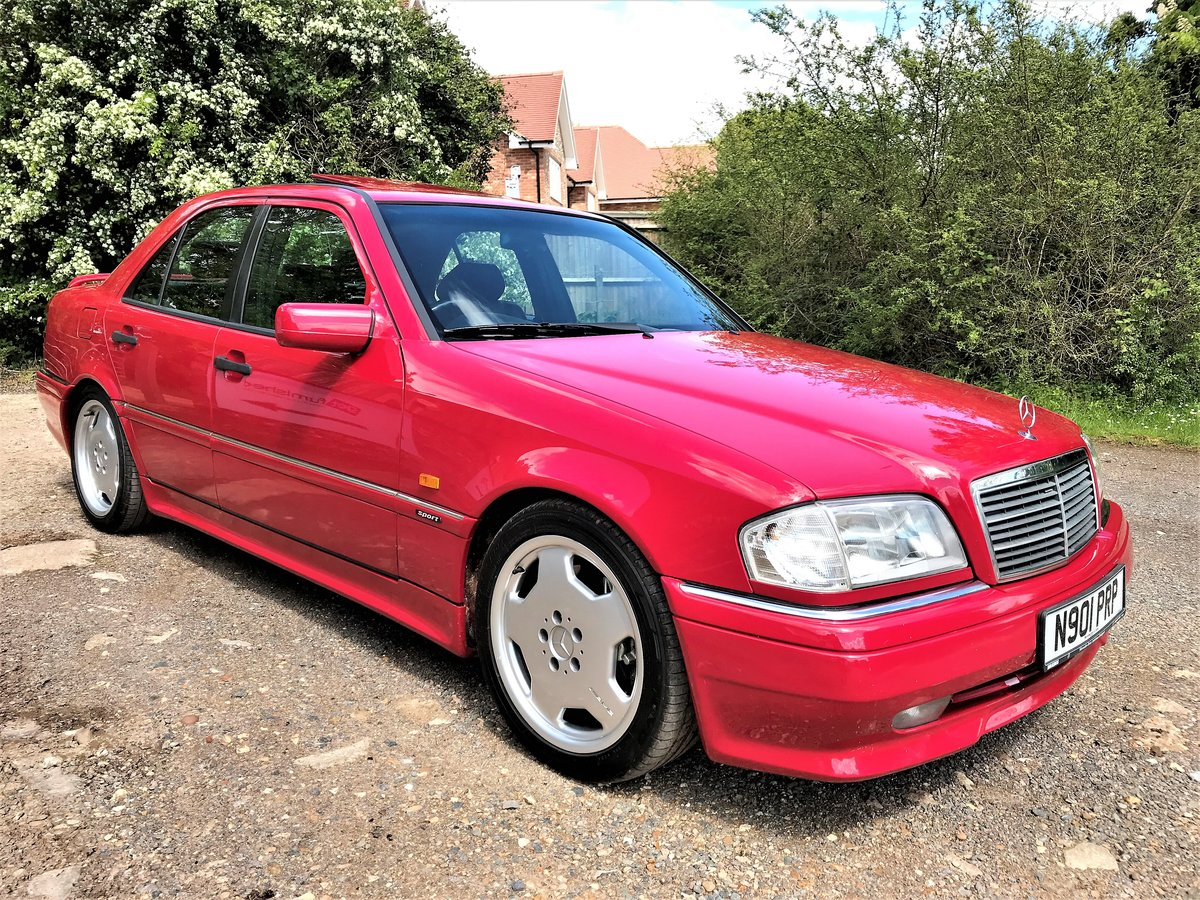 1995 Mercedes AMG C36 + 3 previous owners + UK car+12M MOT For Sale (picture 2 of 6)
