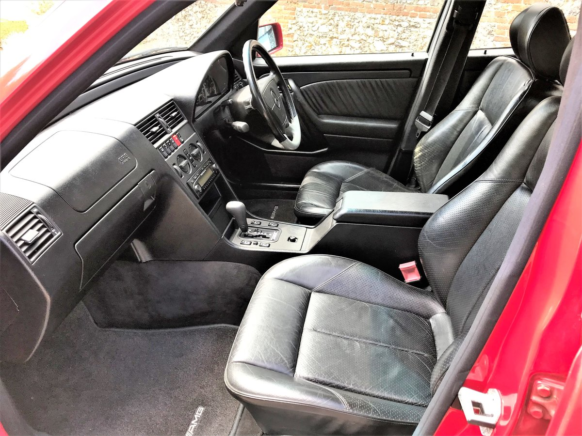 1995 Mercedes AMG C36 + 3 previous owners + UK car+12M MOT For Sale (picture 3 of 6)