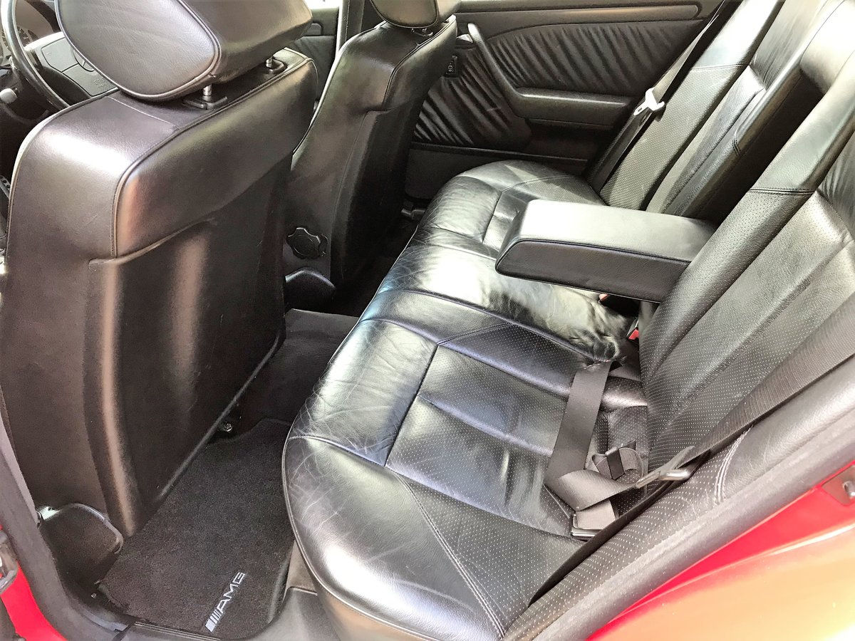 1995 Mercedes AMG C36 + 3 previous owners + UK car+12M MOT For Sale (picture 4 of 6)