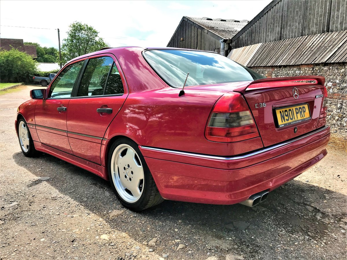 1995 Mercedes AMG C36 + 3 previous owners + UK car+12M MOT For Sale (picture 5 of 6)