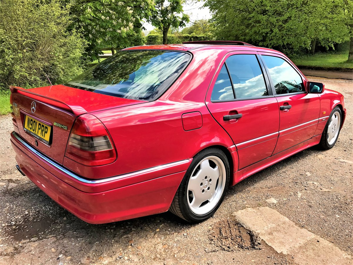 1995 Mercedes AMG C36 + 3 previous owners + UK car+12M MOT For Sale (picture 6 of 6)