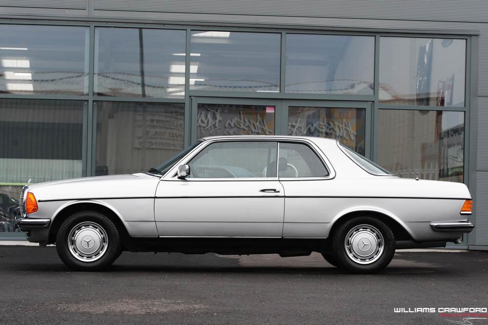 1980 Low mileage Mercedes Benz 280 CE (C123) auto For Sale (picture 1 of 6)