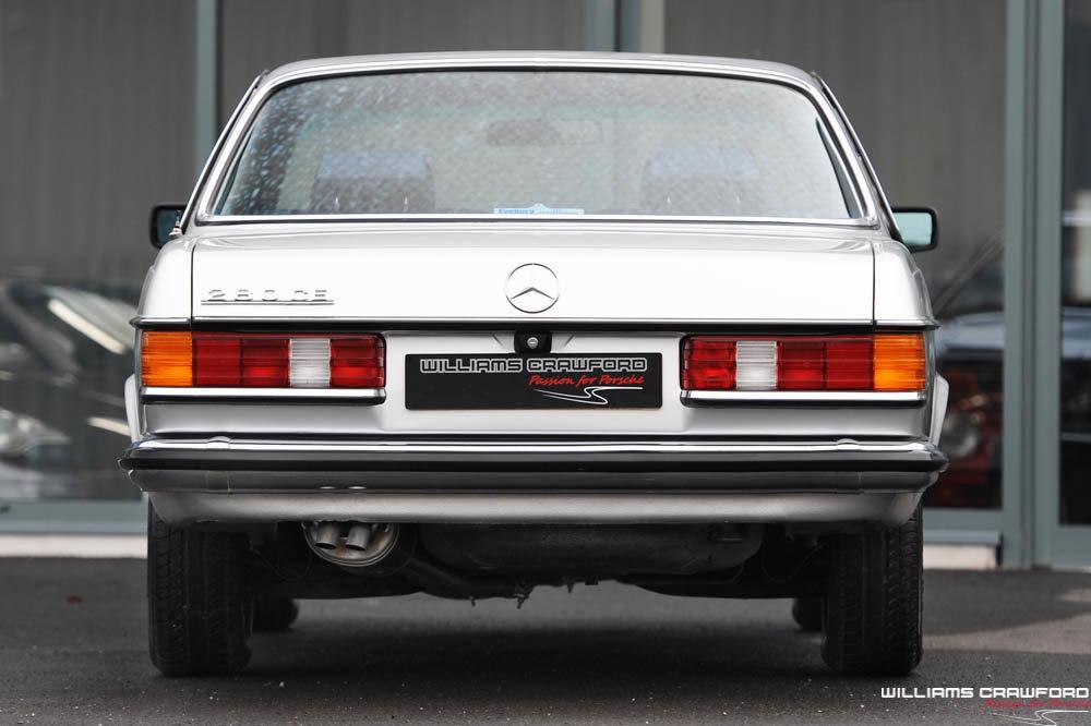 1980 Low mileage Mercedes Benz 280 CE (C123) auto For Sale (picture 3 of 6)