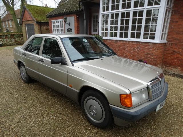 1991 MERCEDES 190E 1.8 AUTO For Sale (picture 1 of 6)