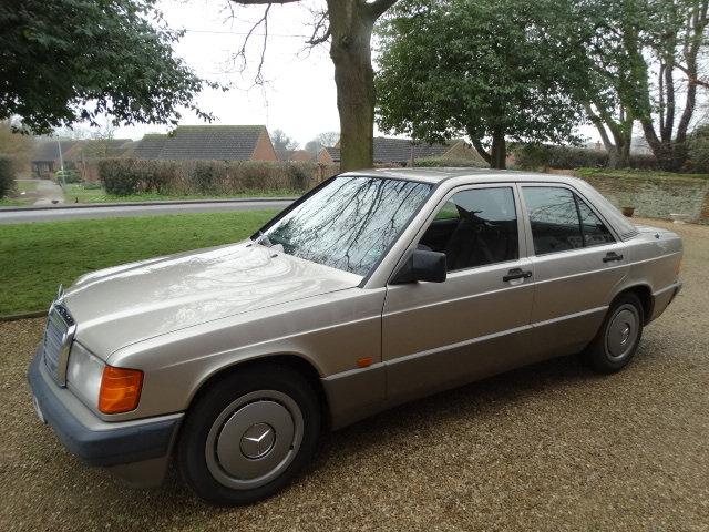 1991 MERCEDES 190E 1.8 AUTO For Sale (picture 2 of 6)