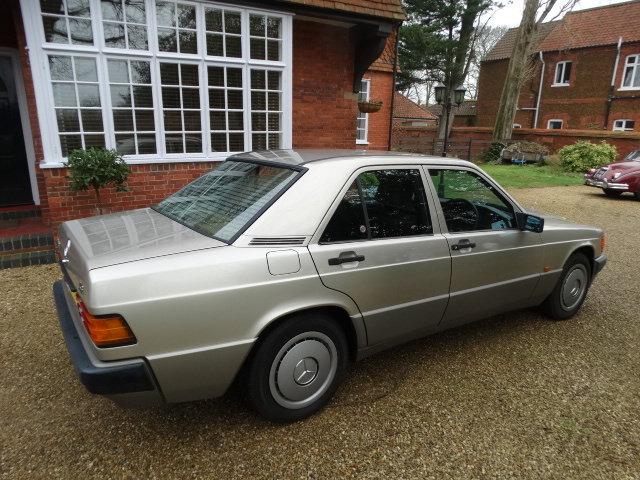 1991 MERCEDES 190E 1.8 AUTO For Sale (picture 3 of 6)