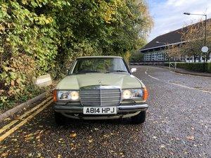 1983 Mercedes w123 230E Manual For Sale