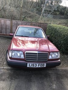 1994 Mercedes W124 e300 diesel om606