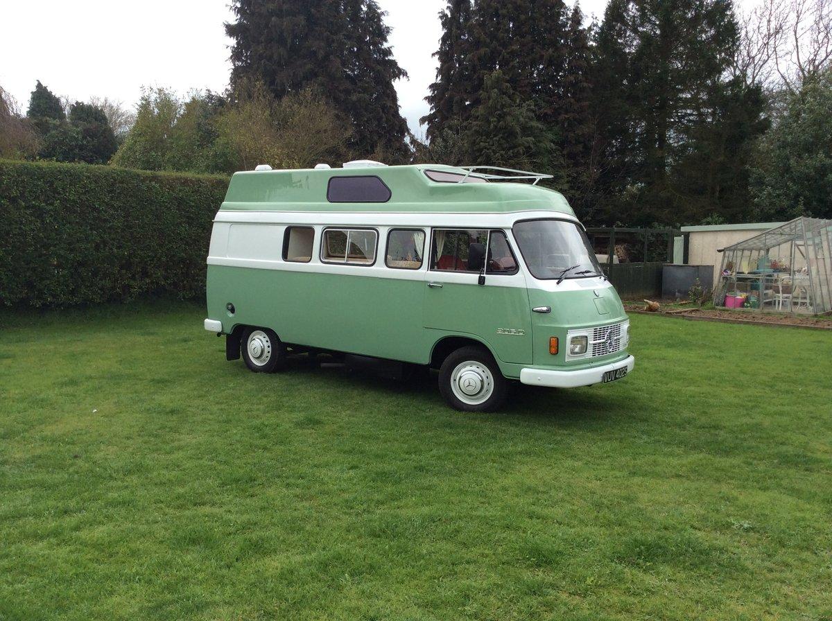 1978 Mercedes Unique Camper Van  For Sale (picture 1 of 6)