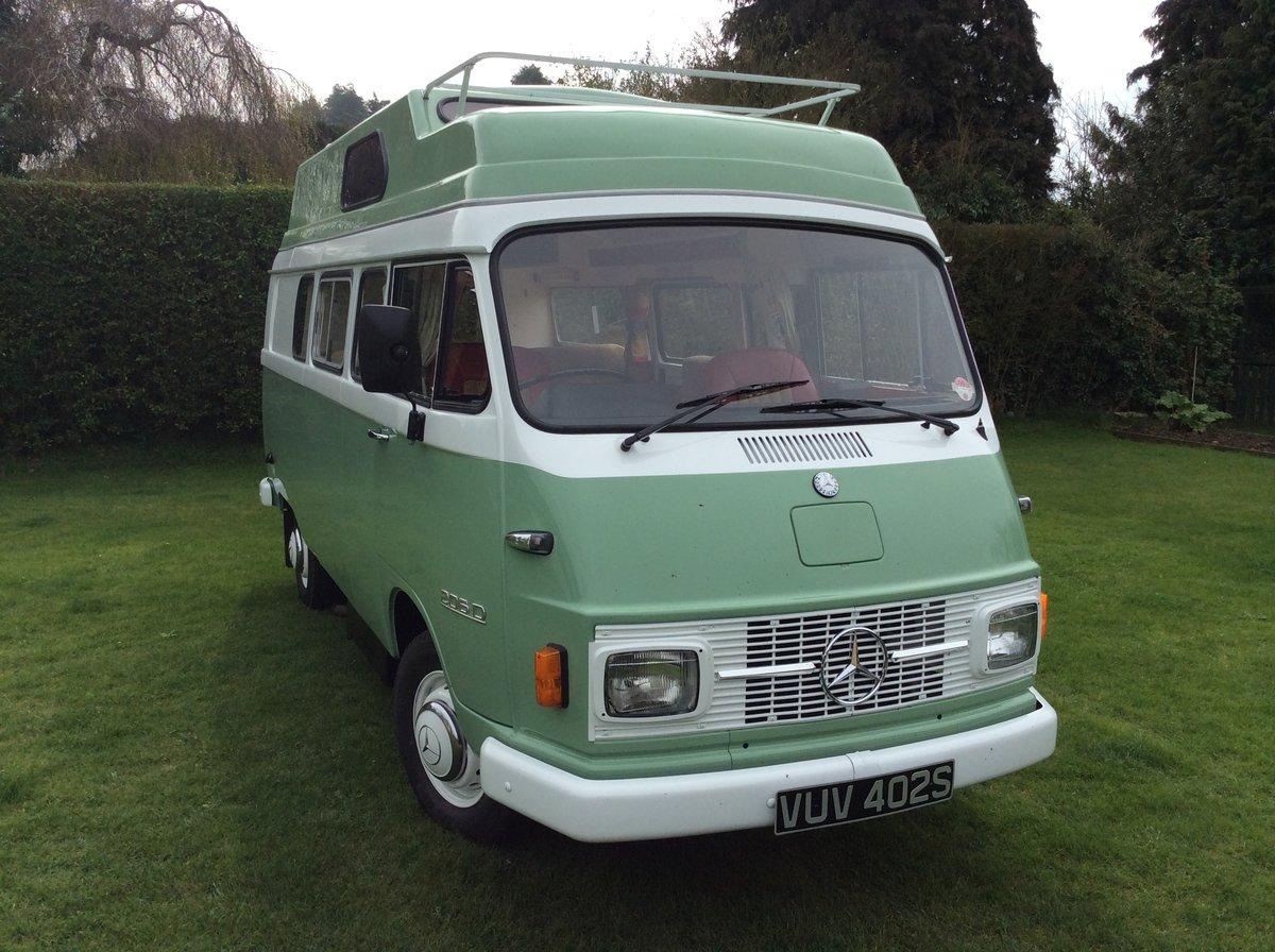 1978 Mercedes Unique Camper Van  For Sale (picture 2 of 6)