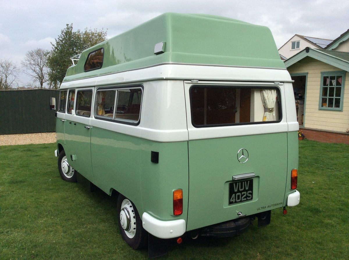 1978 Mercedes Unique Camper Van  For Sale (picture 3 of 6)