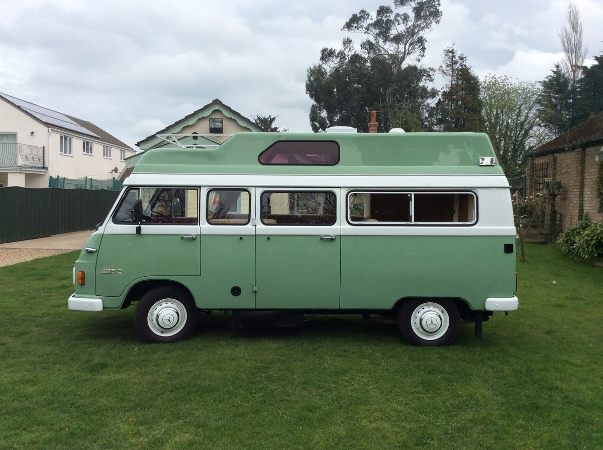 1978 Mercedes Unique Camper Van  For Sale (picture 4 of 6)