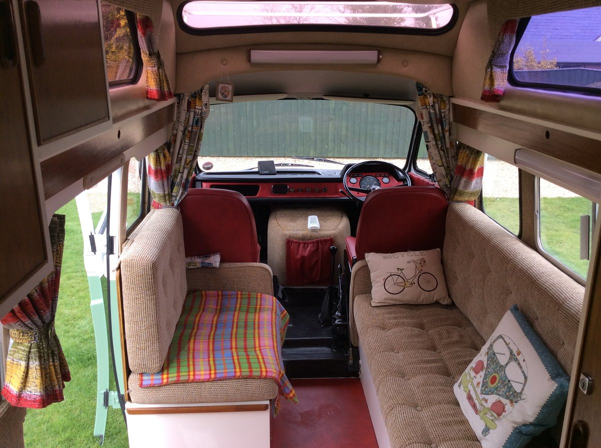 1978 Mercedes Unique Camper Van  For Sale (picture 6 of 6)