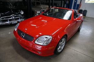 2004 Mercedes SLK 320 V6 Roadster with 12K orig miles SOLD
