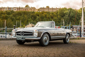 1966 Mercedes-Benz 280 SL Pagoda in Anthracite Grey by Hemmels