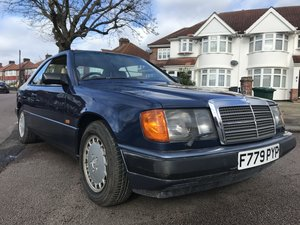 1989 MERCEDES 300 CE AUTO COUPE 28,000 MILES ONLY For Sale