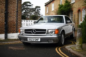 1986 MERCEDES-BENZ 560 SEC W126 SOLD