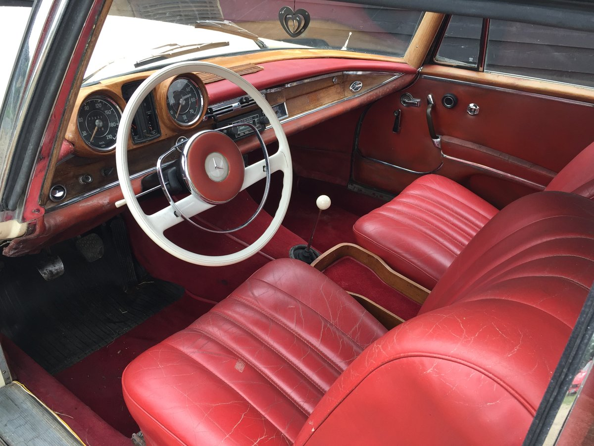 1964 Mercedes-Benz 220 SEB Coupe For Sale (picture 3 of 6)