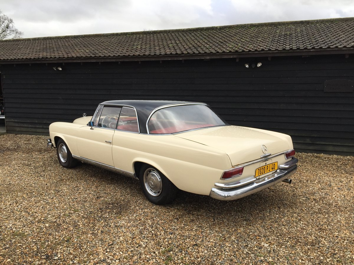 1964 Mercedes-Benz 220 SEB Coupe For Sale (picture 6 of 6)